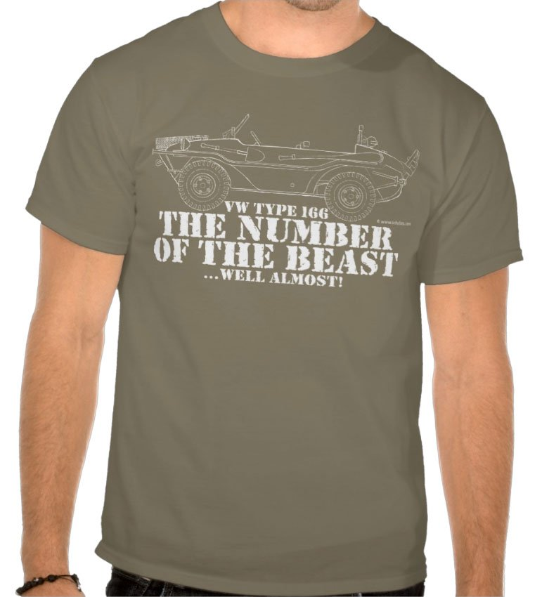 the number of the beast… well almost T-Shirt