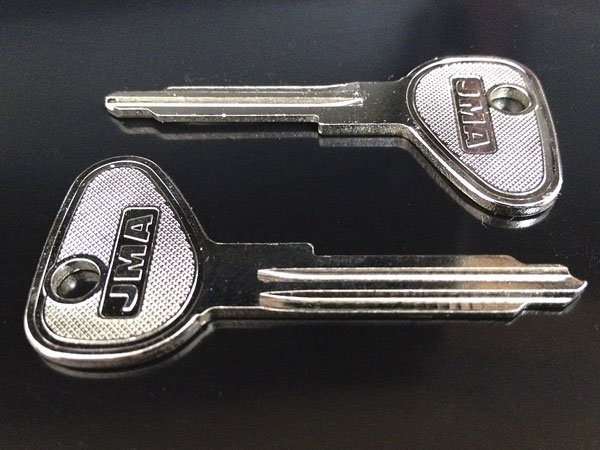 New VW key blanks