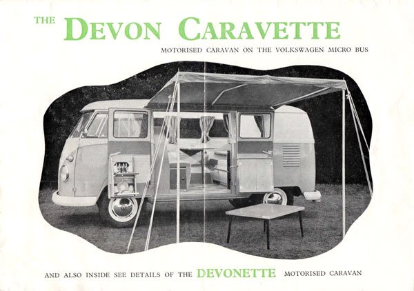 Devon Caravette camping conversion