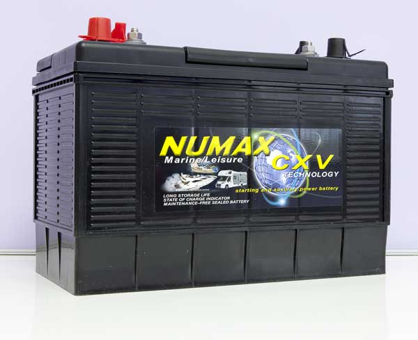 Numax 12v 110Ah XV31MF CXV dual terminal leisure battery