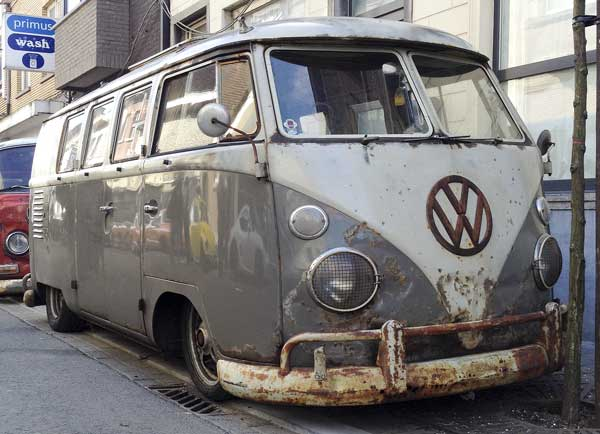 battered but beautiful sub hatch westy camper