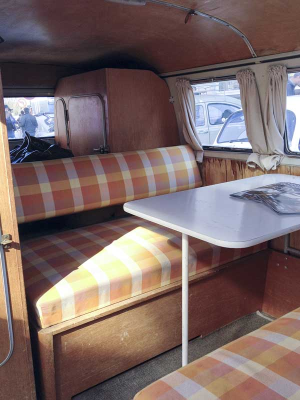 original Westfalia camping interior was in great condition