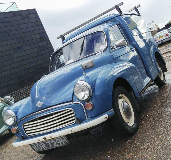 Morris Minor Quarter Ton Van
