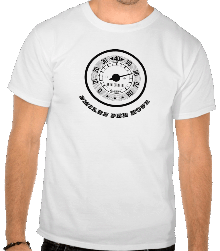 smiles per hour vintage camper speedo design, available in a range of colours…