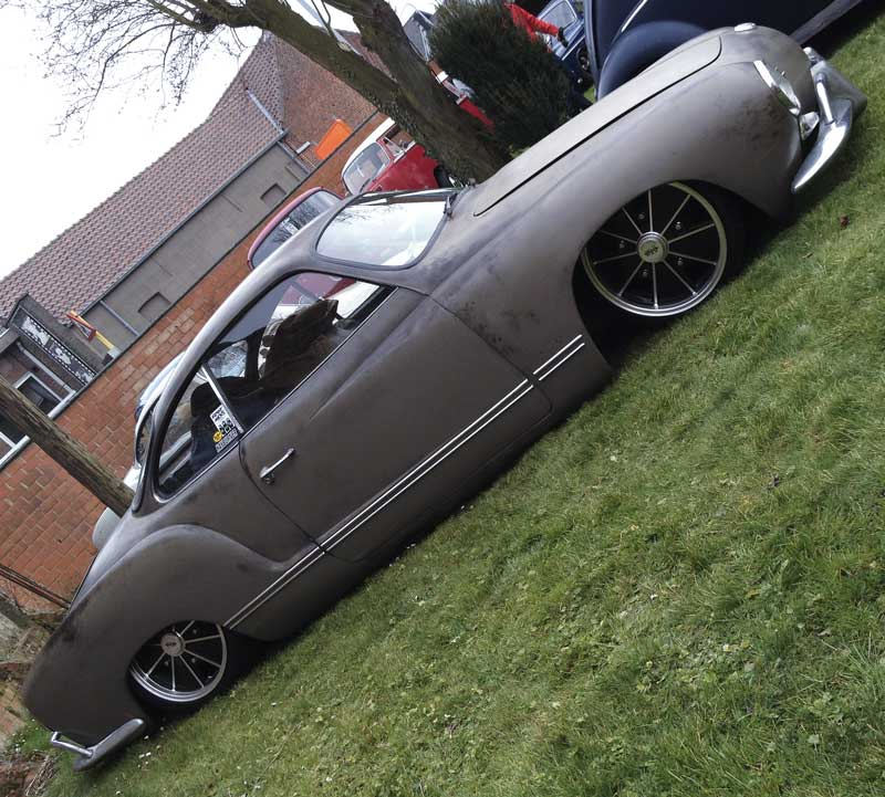 tough looking Karmann Ghia as low as you like!